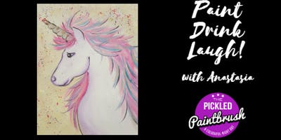 Painting Class - Unicorn - ALL AGES - January 19, 2018*
