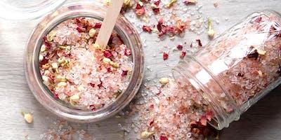 Floral Bath Salt Workshop