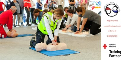 Red Cross First Aid & CPR/AED Coupon - North York, ON