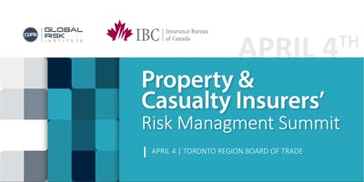 Property & Casualty Insurers' Risk Management Conference  April 4, 2019