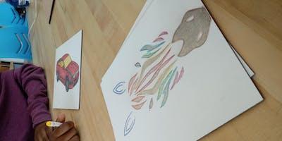ART Night in the Fab Lab, laser cutting, engraving, drawing, fun!