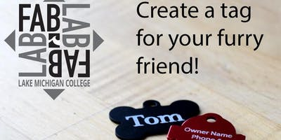 Create Your Own PET (Dog, Cat) ID Tag Laser Cutting/Engraving Fab Lab