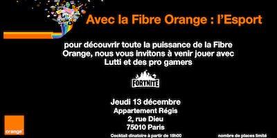 Avec la Fibre Orange : l\