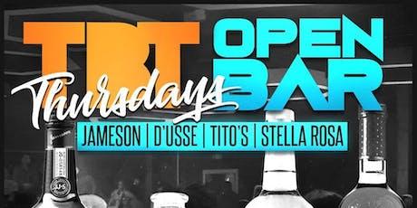 ThrowBack Thursdays : Premium Open Bar + Live Bands + 90s Music tickets