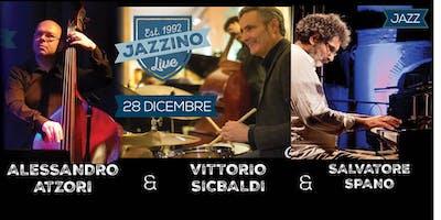 Salvatore Spano, Vittorio Sicbaldi, Alessandro Atzori Trio - Live at Jazzino