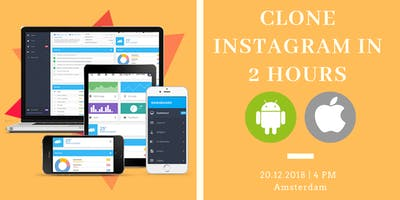 Clone Instagram in 2 hours (Android+iOS)