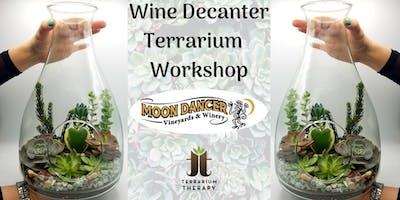 Wine Decanter Terrarium Workshop