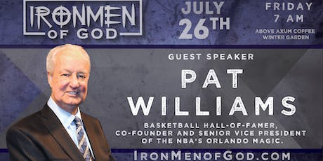 IronMen of God July 2019 Coffee tickets