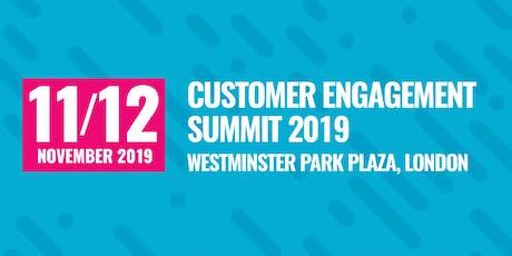 Customer Engagement Summit 2019 tickets