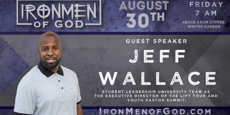 IronMen of God August 2019 Coffee tickets