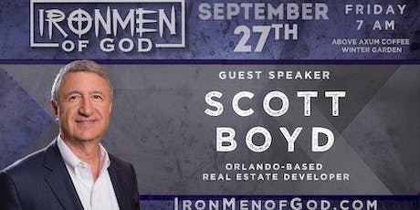 IronMen of God September 2019 Coffee tickets
