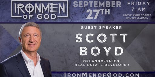 IronMen of God September 2019 Coffee