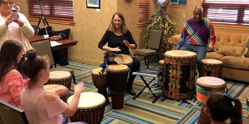 African Drumming Circle Workshop