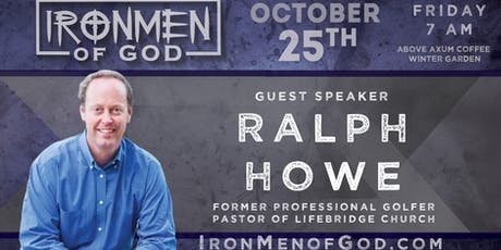 IronMen of God October 2019 Coffee tickets