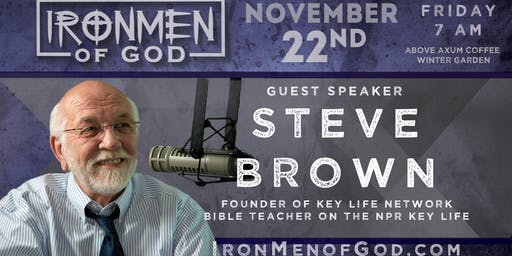 IronMen of God November 2019 Coffee