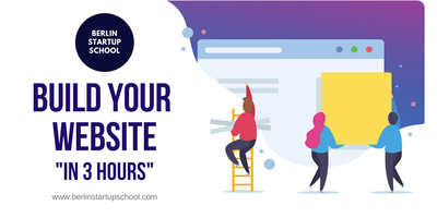 Build your first website in 3 hours (no coding ski