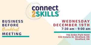connect2SKILLS - Business Before Breakfast Meeting