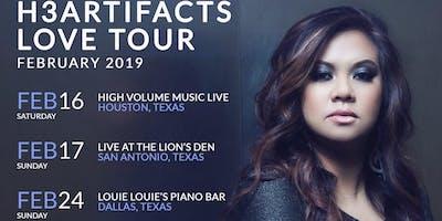 "Tracy Cruz ""H3artifacts Love Tour 2019"" FEAT. R&B/Soul Singer Kobe Singleton"