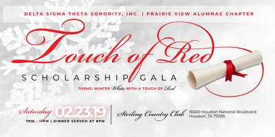 3rd Annual PVAC DST Touch of Red Scholarship Gala
