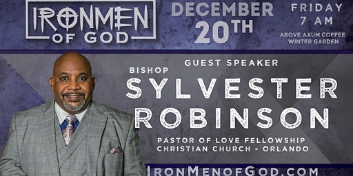 IronMen of God December 2019 Coffee