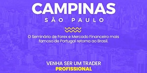 SEMINÁRIO BRASIL CAMPINAS / SÃO PAULO - TRADERS...