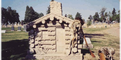 Cemetery Symbolism tour at Riverside Cemetery