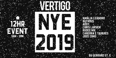Vertigo ● NYE 2019 ● 12hr event