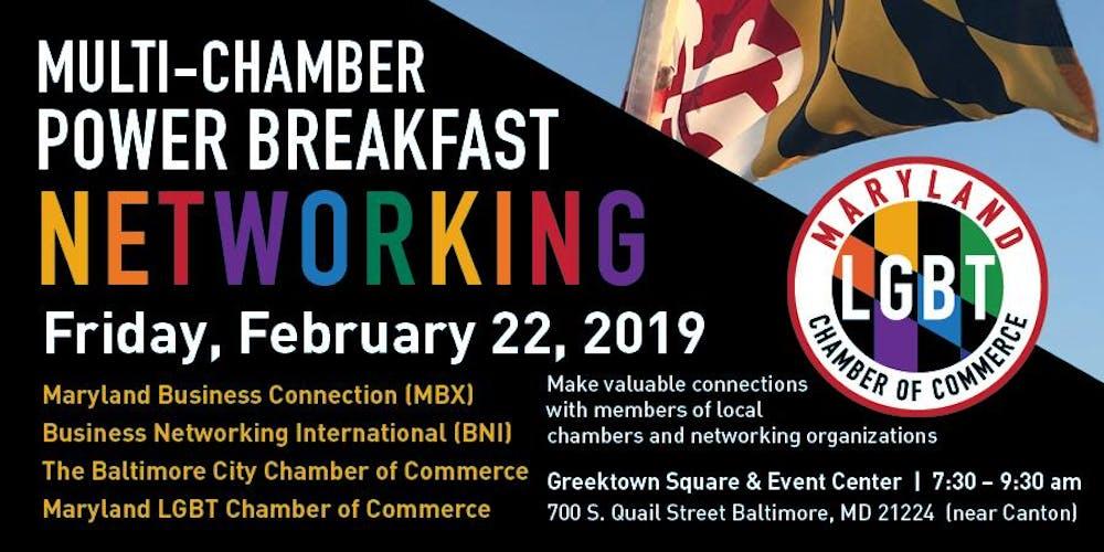 Multi Chamber Power Networking Breakfast 2 0 Tickets Fri Feb 22