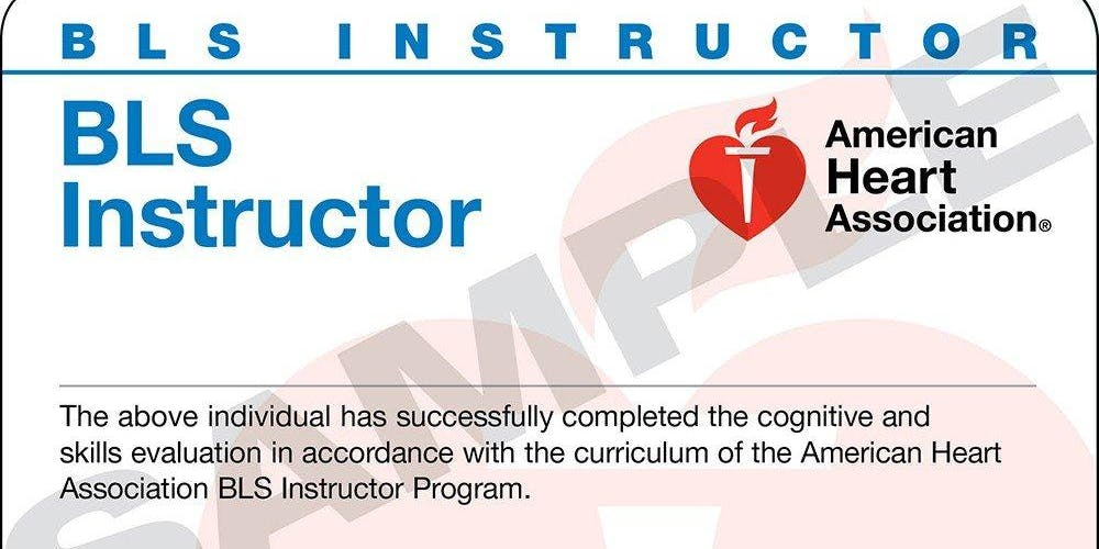 American Heart Association Cpr And Bls Instructor Class
