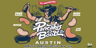The Austin Pancakes & Booze Art Show