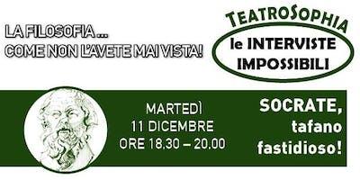 TeatroSophia, Intervista Impossibile a SOCRATE, un Tafano Fastidioso
