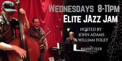 """John Adams  """"Elite Jazz Jam"""" every Wednesday"""