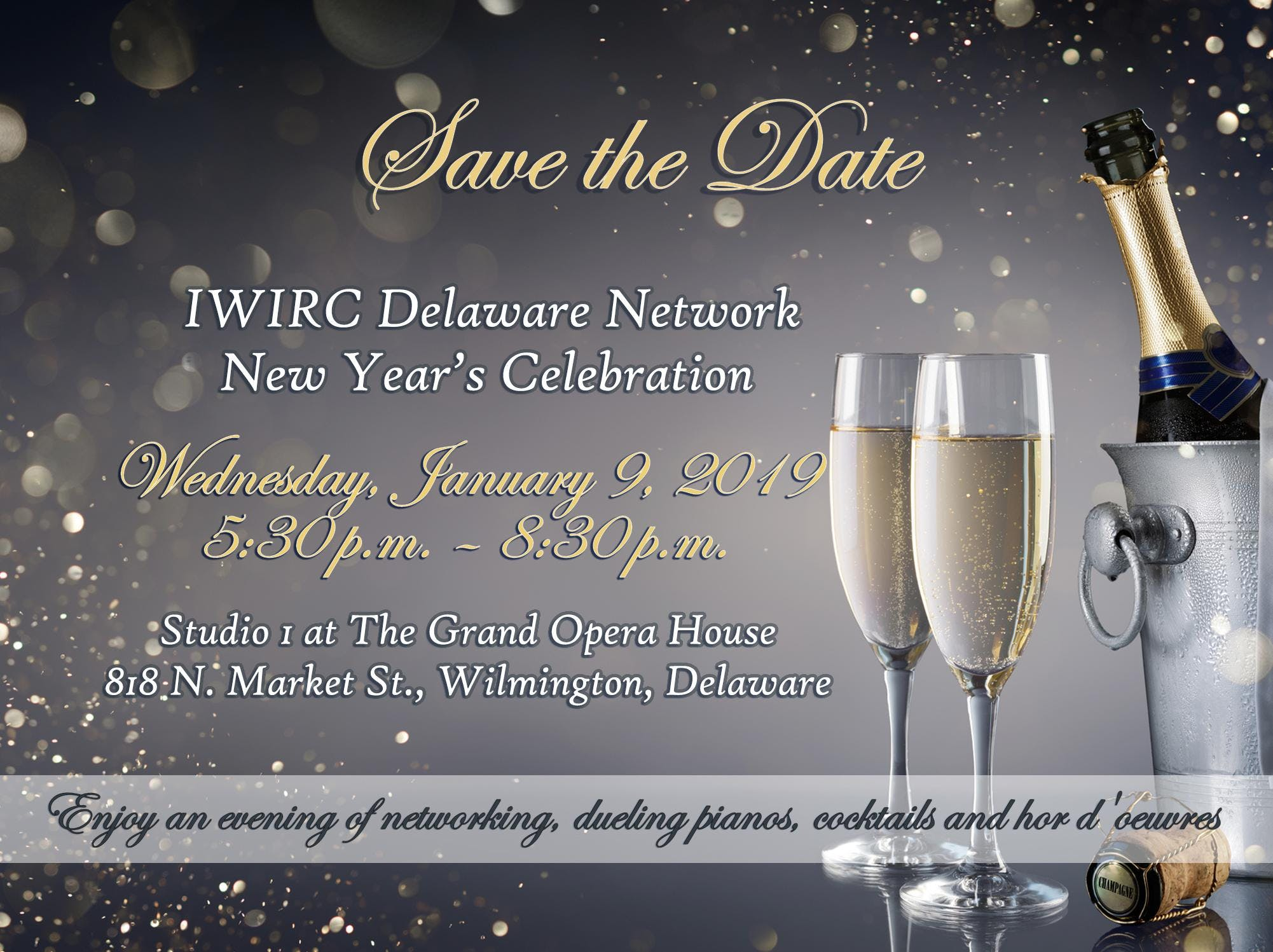 IWIRC Delaware Network New Year's Celebration - 9 JAN 2019