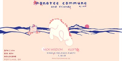 Manatee Commune and Friends (DJ sets)