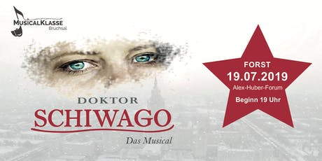 Doktor Schiwago - Das Musical Forst Tickets