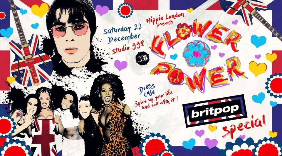 Flower Power London Britpop Special