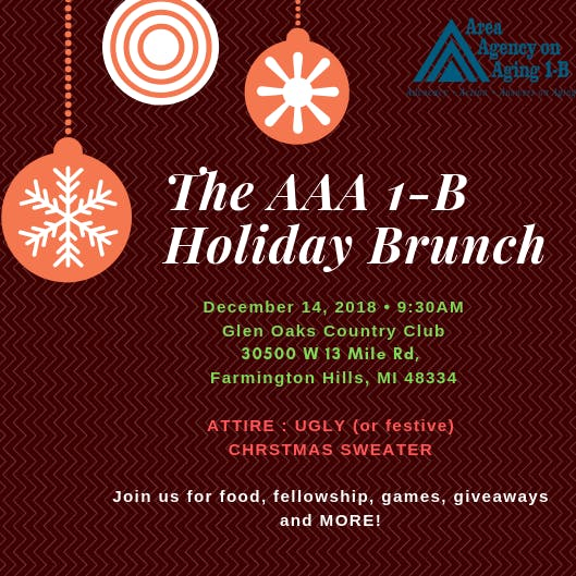 The AAA 1-B Holiday Brunch