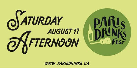 Paris Drinks Fest Saturday Afternoon Session tickets