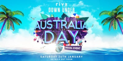 Riva Down Under ft. Timmy Trumpet, Will Sparks, Stafford Brothers. (FREE BBQ)