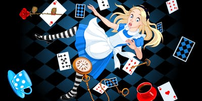 """Interdepartmental \""""Down the Rabbit Hole\"""" Holiday Event"""