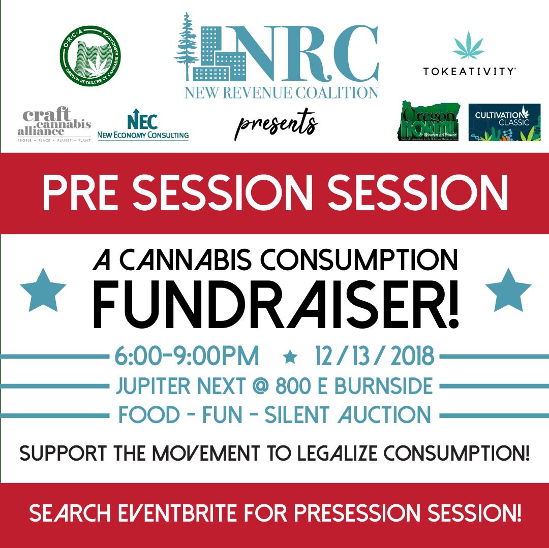Pre-Session Cannabis Consumption Fundraiser!