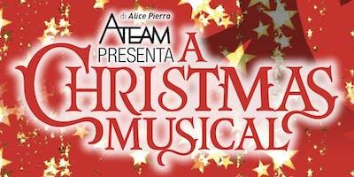 "A CHRISTMAS MUSICAL, show musicale brillante,  ispirato a ""CHRISTMAS CAROL"""