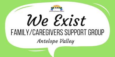 We Exist Family/Caregiver Support Group (AV)