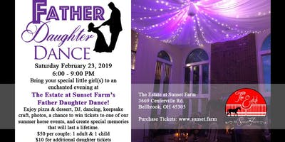 Father Daughter Dance at The Estate