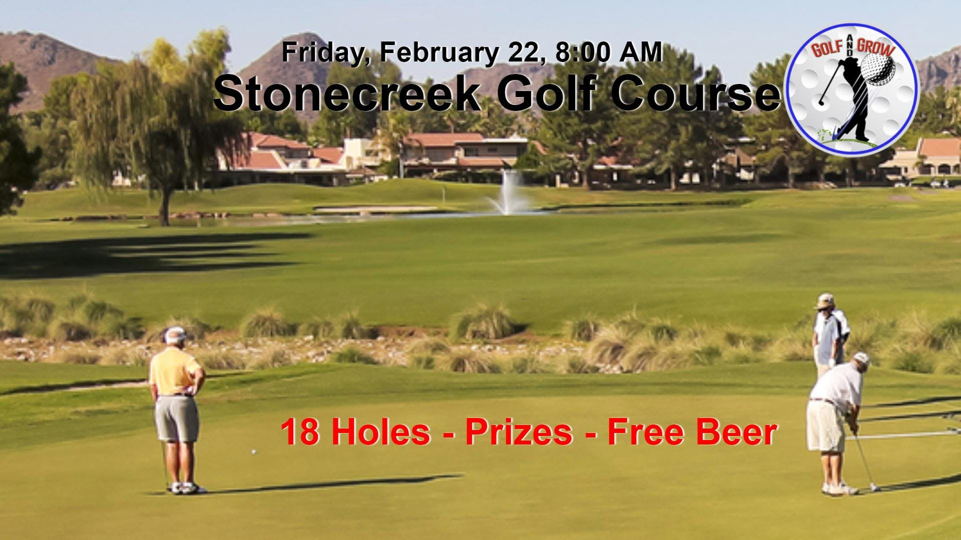 Stonecreek Tournament  - $99