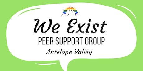We Exist Peer Support Group (AV) tickets
