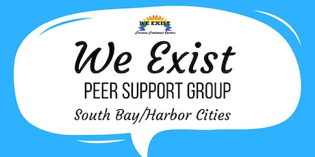 We Exist Peer Support Group (Long Beach) tickets