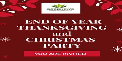 End-Of-Year Thanksgiving and Christmas Party