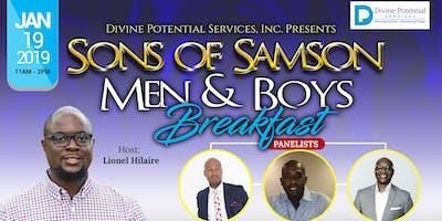 Sons of Samson, Men & Boys Breakfast