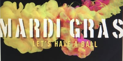 "NED Mardi Gras ""Let's Have a Ball"""